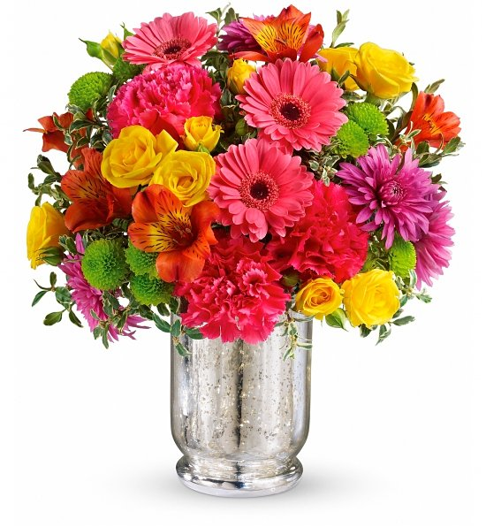 Pleased As Punch Bouquet: Flower Bouquets - A perfect